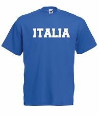 ITALY italia sport tee football game soccer rugby New Mens Womens T SHIRT TOP