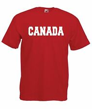 CANADA sport game ice hockey football soccer tee NEW Boys Girls Kids T SHIRT TOP