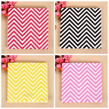 """20pcs 13"""" Paper Napkins Wave Tableware Wedding Birthday Party Decorations"""