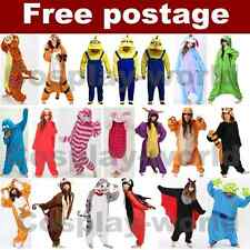 Unisex Adult Kigurumi Anime Pyjama Cosplay Costume Sleepwear Animal Onesie Onsie