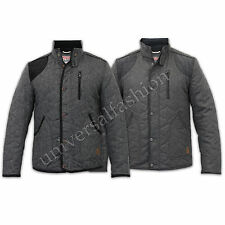 Tokyo Laundry Mens Jacket Coat Wool Mix Cord Tweed Patches Funnel Casual Winter