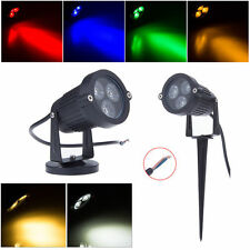 Outdoor 9W LED Spot Light Garden Yard Path Pond Landscape Floodlight Lawn Lamp
