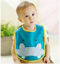 Baby Bib Summer Thin Waterproof Lovely Cartoon Animal 0-2 Years Old Cotton Cute