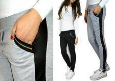 TROUSERS PANTS NEW LEATHER ZIP TRACKSUITS