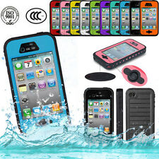 NEWEST Waterproof Shockproof Snow/Water Proof Case for apple iPhone4 iPhone 4 4s