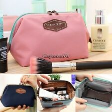Women Travel Toiletry Make Up Cosmetic pouch bag Clutch Handbag Purse Case CaF8