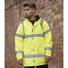 (Free PnP) Warrior Mens Nevada High Visibility Work Safety Jacket