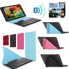 """Universal 9"""" Bluetooth Keyboard Leather Folio Case For all 9-10.1 inch Tablet PC"""