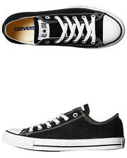 New Converse Women's Womens Chuck Taylor All Star Lo Shoe Canvas Shoes Black