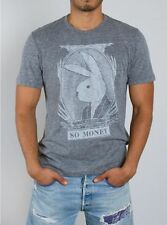 New Authentic Vintage Inspired Junk Food Mens Playboy So Money Tee Shirt