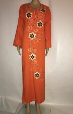 Islamic Dress Gown Abaya Jilbab Sleepwear Kaftan Hijab ManySizes,printcolors 4U
