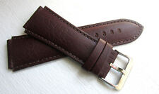 Genuine Leather Watch Strap / Band Replacement for Skagen 759LSLB1, 759LDRD