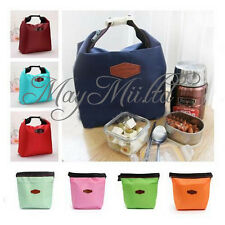 Thermal Insulated Cooler Waterproof Lunch Tote Carry Storage Picnic Pouch Bag W