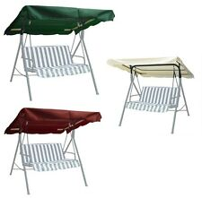 New Deluxe Patio Outdoor Swing Canopy Replacement Porch Top Cover Seat-choose