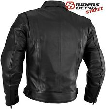 River Road Mens Cruiser Classic Leather Jacket