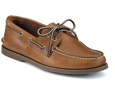 Sperry Top Sider Men's Authentic Original 2-Eye Boat Shoes Sahara 0197640