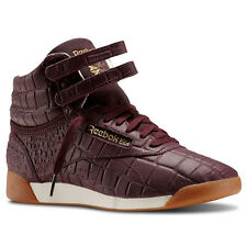 Reebok Freestyle Hi Exotic - Dark Red M41969