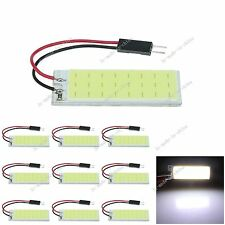 10pcs White 24 Chips COB LED Festoon Dome/Door Light Panel Interior Bulb J306