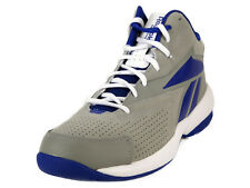 [V61142] REEBOK COURT FLYER GREY/WHITE/BLUE MEN'S SIZE 8 TO 11 NIB