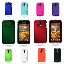 For Kyocera Hydro Icon - Slim Case Hard Rubber Shell Phone Cover Case