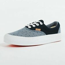 VANS WOMENS ERA CA CHAMBRAY POLKA DRESS BLUES VN 0IM98JC CALIFORNIA 6CF
