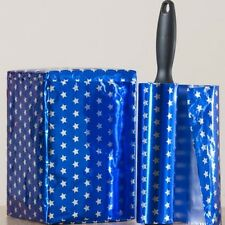 BLUE MAN WRAP simple fast wrapping foil paper is self sealing NO TAPE NEEDED