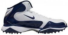 New! NIKE Zoom Merciless Destroyer Football Cleats - Navy & White Turf Shoes