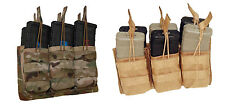 ATS Tactical MOLLE AR 5.56 Six Pack Mag Shingle-Multicam-Kryptek-Coyote-RG-BK