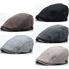 Men Styling Ivy Cap Scratch Design Flat Newsboy Hat Gatsby Golf Visor N150