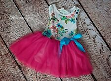 SALE! Gorgeous floral dress perfect for birthday party toddler girls size 18M-4T