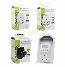 7 Day Digital Plug-in Programmable 12/24 Hour Timer Switch Socket, Countdown opt