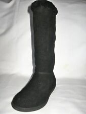 J.CREW BRAND NEW (NWT) SUEDE ALPINE ROLL OVER SHORT BOOTS Color:Black