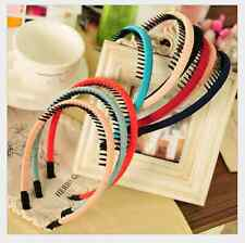 Womens Girl's Gift Sweet Candy Colors Hair BandHair Jewelry Headband Hair Clasp
