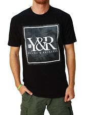 Young and Reckless Men's Trademark Dye Crew Neck Short Sleeve T-Shirt