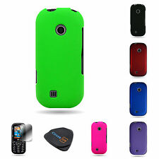 For LG COSMOS 2 / 3 UN251 VN251S Hard Rubberized Matte Slim Phone Cover Case