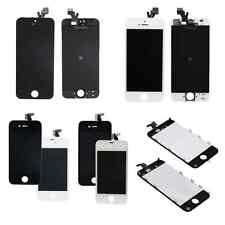 LCD w/Frame Touch Screen Digitizer Assembly -White-Black for iPhone 4/4S/5/5C/5S