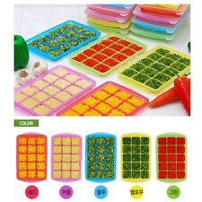 Ice cube tray with lid_Storage and Freezing_Baby Food, Vegetable, Fruits juice M