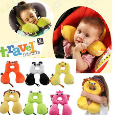 Baby Child Head Neck Suppot Headrest Travel Car Seat Pillow Stroller Bed Cushion