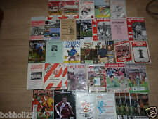 Non- League Home Clubs starting W - Wok  programmes   Pick the one(s) you want