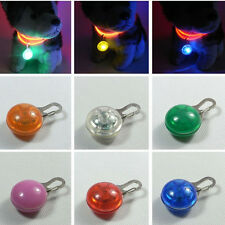 Pet Dog Cat Puppy Led Clip Buckle Safety Flashing Night Light Collar Pendant