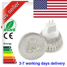 MR16 LED lamp GU5.3 Light Bulb 3X3W Light 9W AC DC 12V Warm Cool White US STOCK