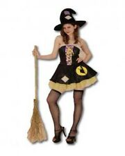 Womens Patchwork Good Witch Fancy Dress Costume Halloween Hat Mini Sexy Cute