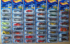 2002 Hot Wheels Choice Lot All Different With Variations #13 To #79 Lot 1 of 3
