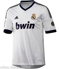 NEW Adidas Real Madrid Junior Childrens Boys Home Football Shirt Top Jersey 2013