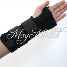 1pcs 1Pair Carpal Tunnel 2 Wrist Brace Support Sprain Forearm Splint Band Stra W