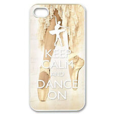 Keep Calm and Dance On Design Case Hard Cover For iphone 5 5S 4G 4S 5C +Gift