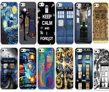 Funny Doctor WHO Tardis Dr Pattern Printing Hard Case Cover For Apple iphone 5C