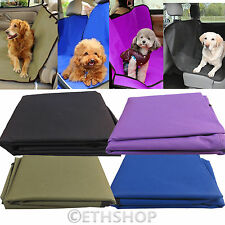 Waterproof Fabric Car Rear Back Seat Cover Pet Dog Cat Protector Boot Mat Liner