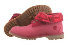 Timberland Authentics Roll Top Boot 8762R Leather Shoes Medium (B, M) Women