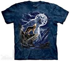 WOLF SPIRIT MOON ADULT T-SHIRT THE MOUNTAIN ----IN STOCK!!